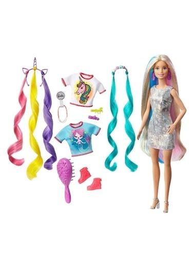 Barbie Sonsuz Saç Eğlencesi Bebek GHN04 Renkli